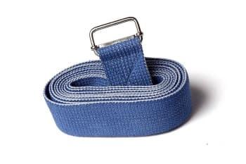 Ремень для йоги хлопковый Де люкс усиленный. Ширина - 4 см. Длина - 270 см