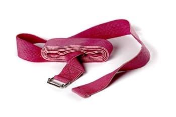 Ремень для йоги хлопковый Де люкс усиленный. Ширина - 4 см, длина - 270 см