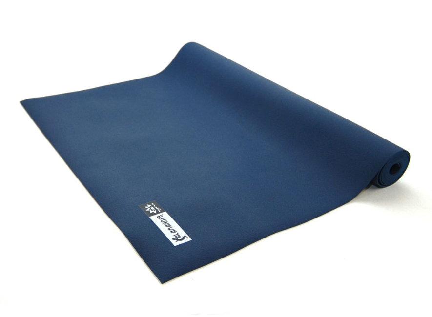 Коврик для йоги Salamander Slim 185х60х0.2 см, темно-синий (под заказ)