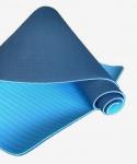 Коврик для йоги TPE 183х61х0,6 синий (под заказ)