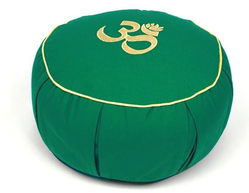 Подушка для медитации Сурья зеленая фото