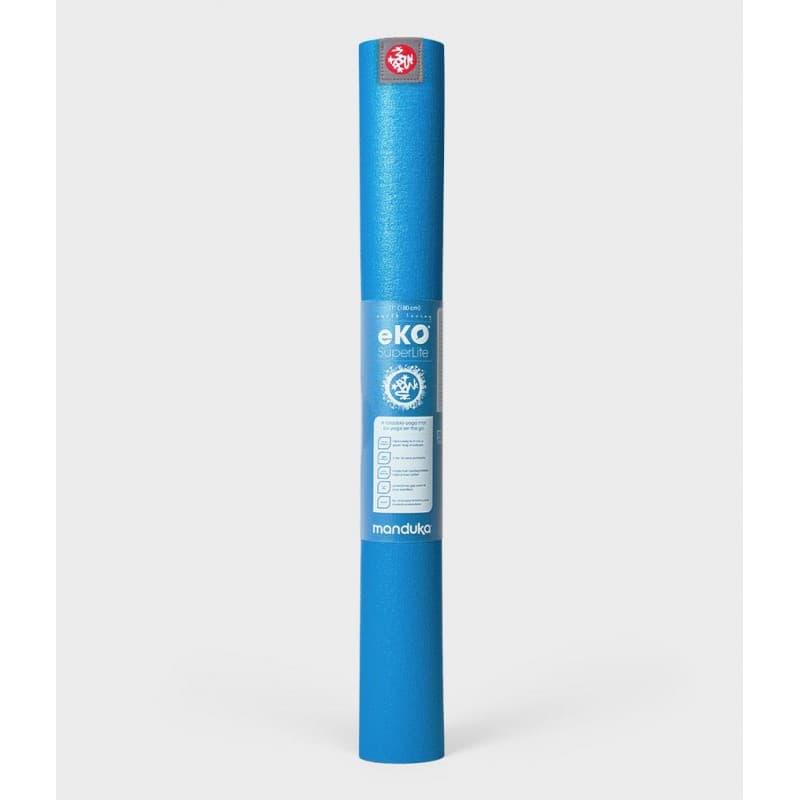 Коврик для йоги Manduka EKO SuperLite Travel Mat 1.5мм Dresden Blue