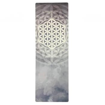 Коврик для йоги Travel Flower of Life Yoga Club 1 мм