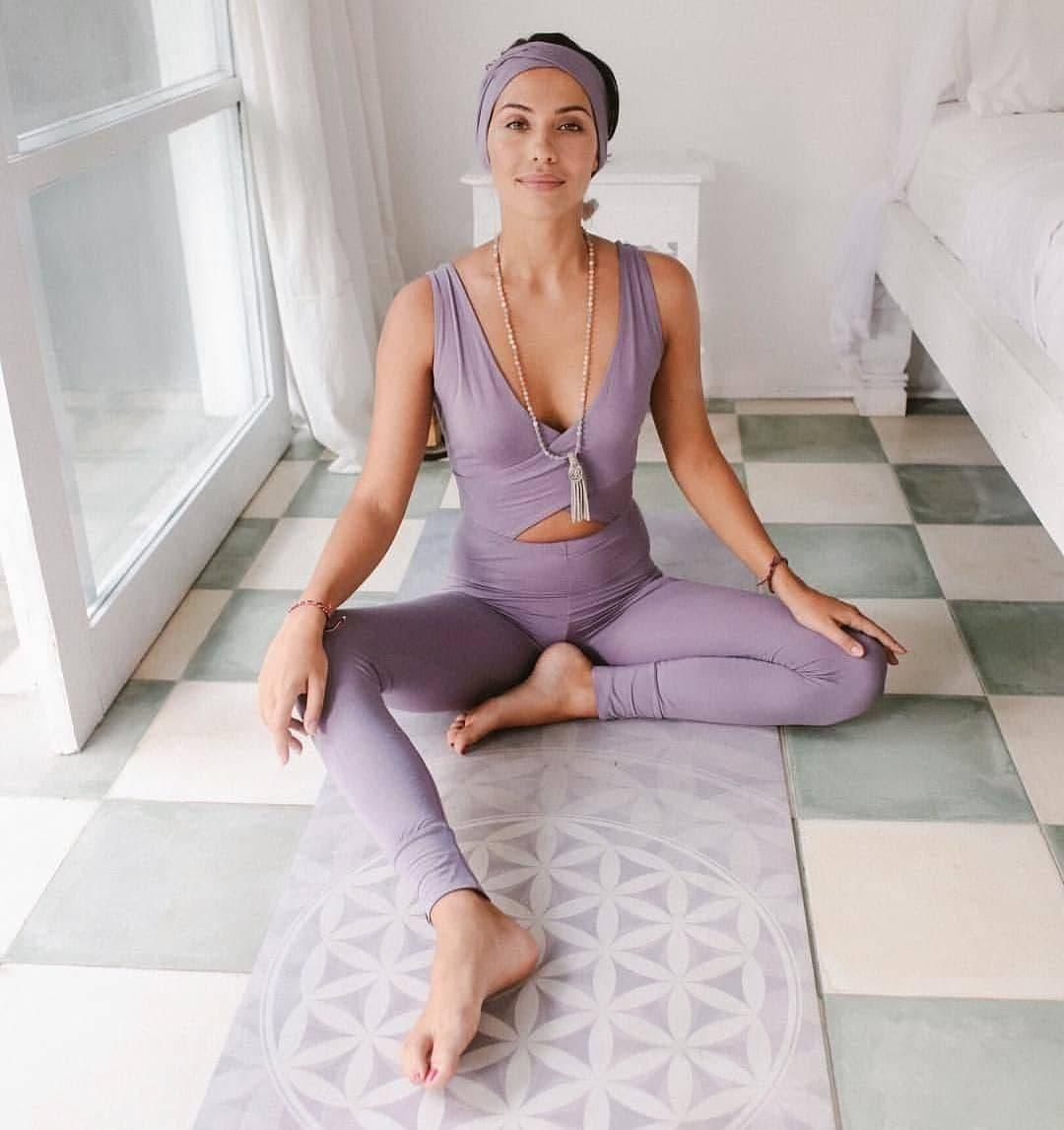 Коврик для йоги Flower of life Yoga Club 3 мм (под заказ из СПб)