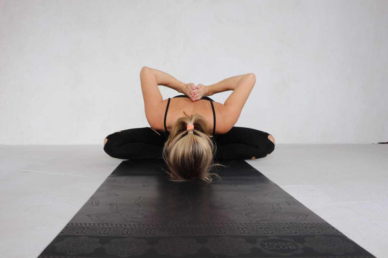 Коврик для йоги MANDALA BLACK Yoga Club (под заказ)