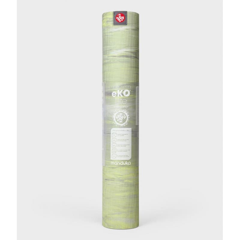 Коврик для йоги Manduka EKO Lite Mat 4 мм Limelight Marbled (под заказ из СПб)