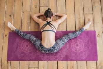 Коврик для йоги Mandala Yoga Club 3 мм (под заказ из СПб)
