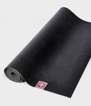 Коврик для йоги EKO SuperLite Travel Mat Black 1.5x61x180 Manduka из каучука (под заказ из СПб)