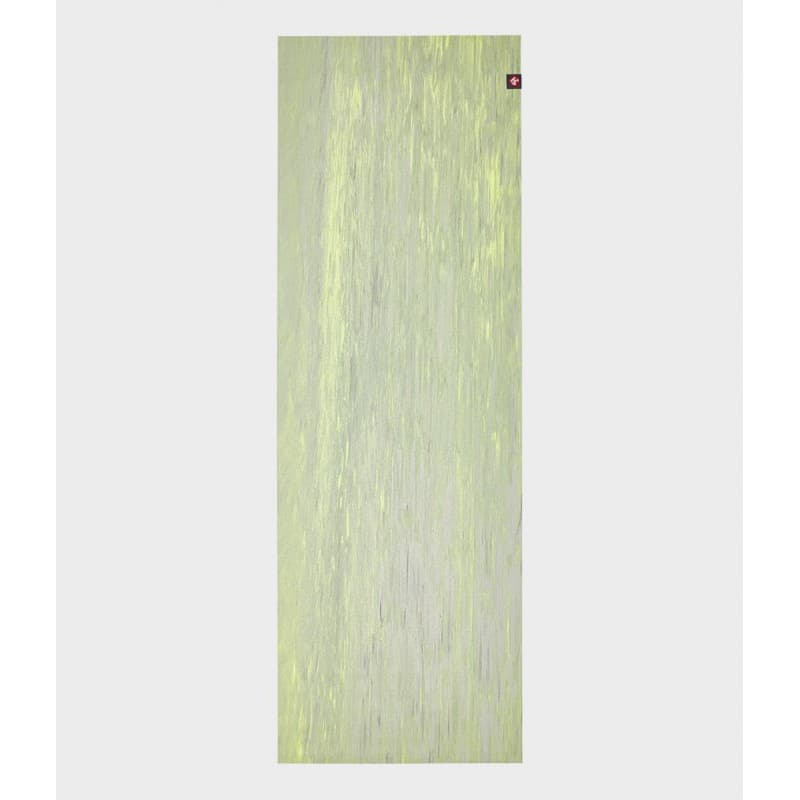 Коврик для йоги EKO SuperLite Travel Mat Limelight marbled 1.5x61x180 Manduka из каучука (под заказ из СПб)
