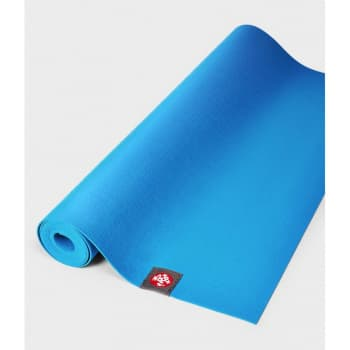 Коврик для йоги EKO SuperLite Travel Mat Dresden Blue 1.5x61x180 Manduka из каучука (под заказ из СПб)