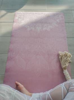 Коврик для йоги Bali Pink Yoga Club 3 мм (под заказ из СПб)