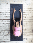 Коврик для йоги Black Yoga Club (под заказ из СПб)_2