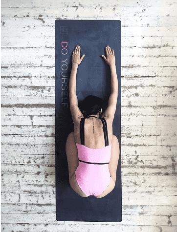Коврик для йоги Black Yoga Club (под заказ из СПб)