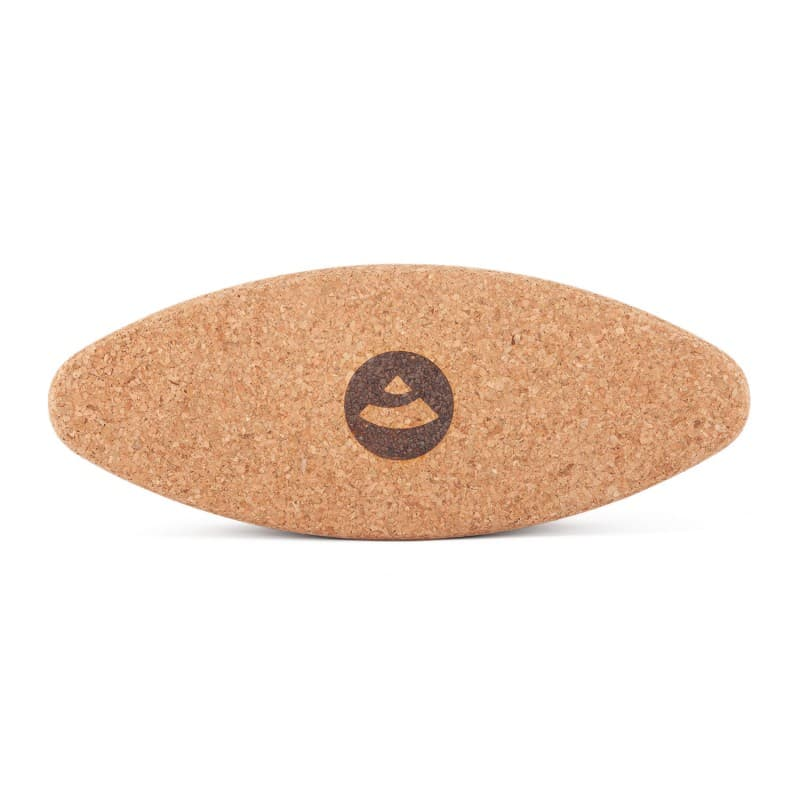 Блок овальный для йоги пробковый 7,5х12х30,5 Yoga Cork Ellipse (под заказ из СПб)