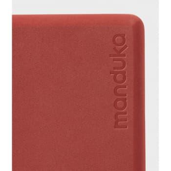 Блок для йоги из EVA пены Manduka recycled foam yoga block 10х15х23 Rapport (под заказ из СПб)