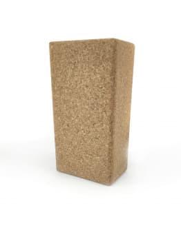 Блок (кирпич) для йоги пробковый 5х20х30