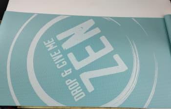 Коврик для йоги 4х61х173 Blue ZEN
