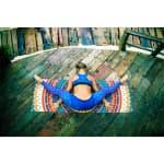 Коврик для йоги Мандала умиротворения Travel Letsmakeyoga микрофибра
