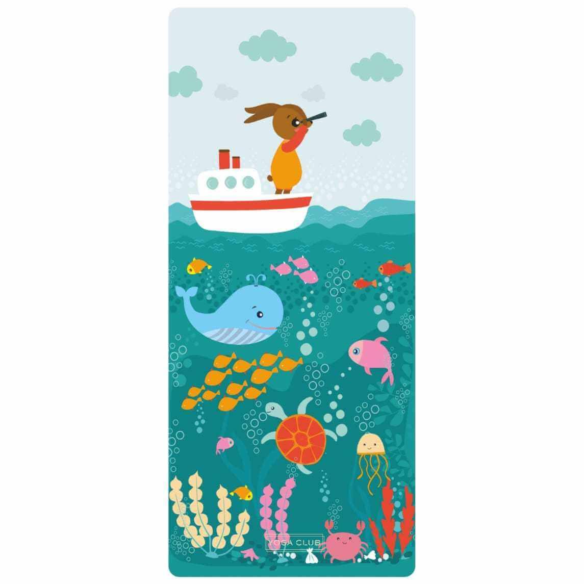 Коврик для йоги детский Ocean