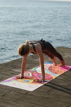 Трэвел коврик для йоги