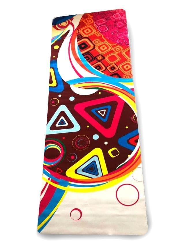 Коврик для йоги Orizzon Геометрия 1,5 мм