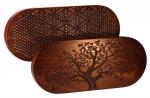 Доска Садху с гвоздями «Древо жизнь» овал медь темное дерево на сайте