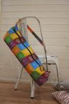 Яркая сумка для коврика