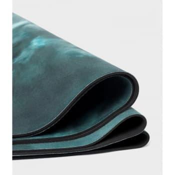 Коврик для йоги eQua eKO Round Yoga Mat Luna Night 3x150 Manduka из каучука + микрофибра (под заказ)